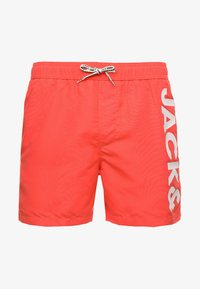 Jack & Jones - JJI CALI SWIM - Swimming shorts - hot coral - 3
