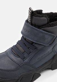Geox - NEVEGAL BOY - Lace-up ankle boots - navy/black - 5