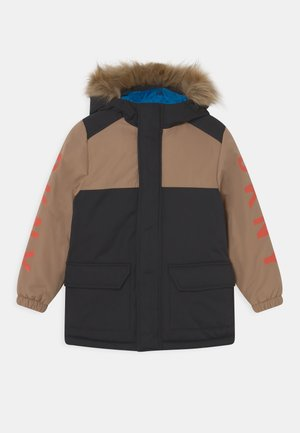 HOODED UNISEX - Winter coat - stone