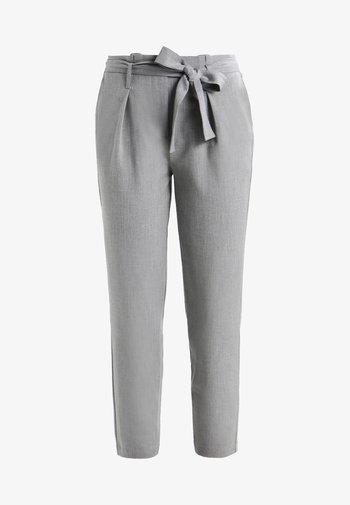 ONLNICOLE PAPERBAG  - Pantalones - light grey