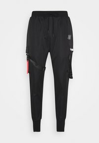 SIKSILK - COMBAT TECH PANTS - Cargo trousers - black - 3