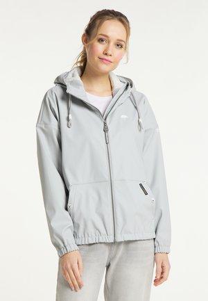 Waterproof jacket - hellgrau