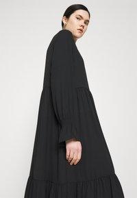 Monki - PARLY DRESS - Skjortekjole - black dark unique - 4