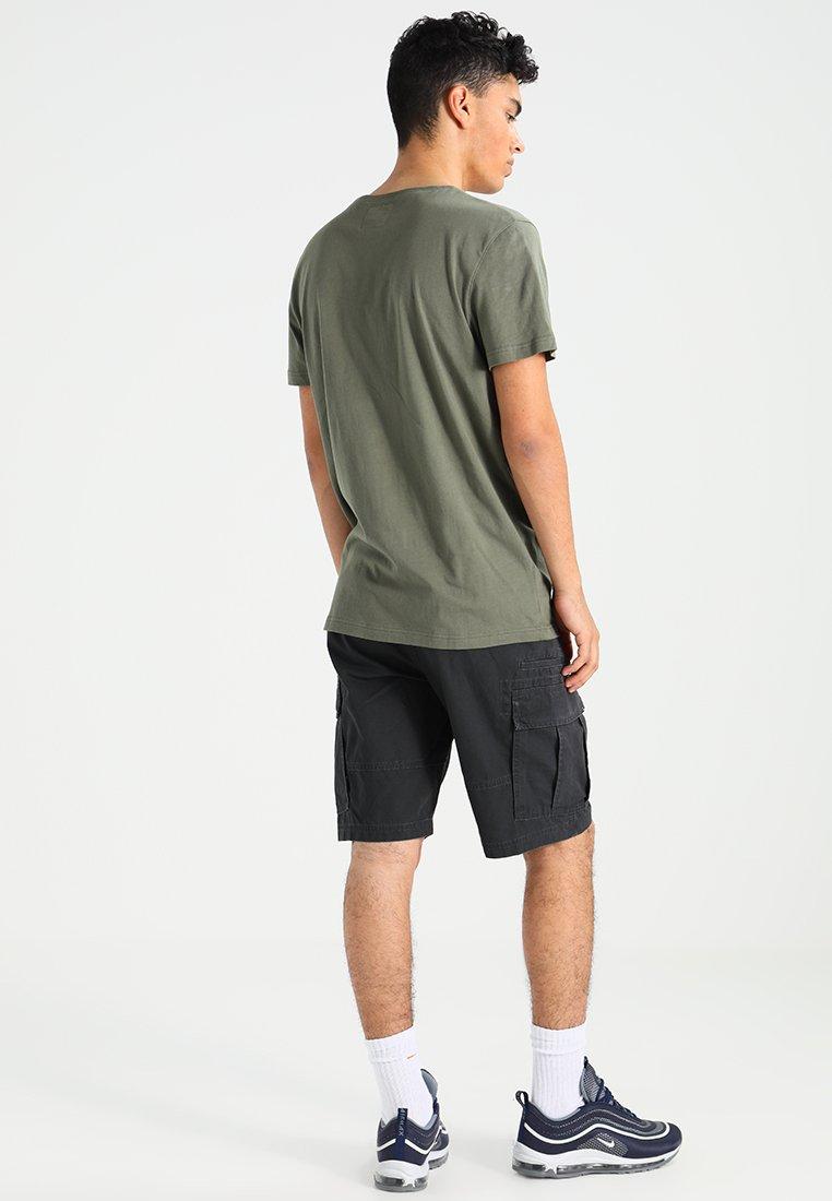 Resteröds ORIGINAL ROUNDNECK - Basic T-shirt - army Z6QIU