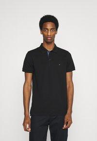 Tommy Hilfiger - CONTRAST PLACKET REGULAR - Polo shirt - black - 0