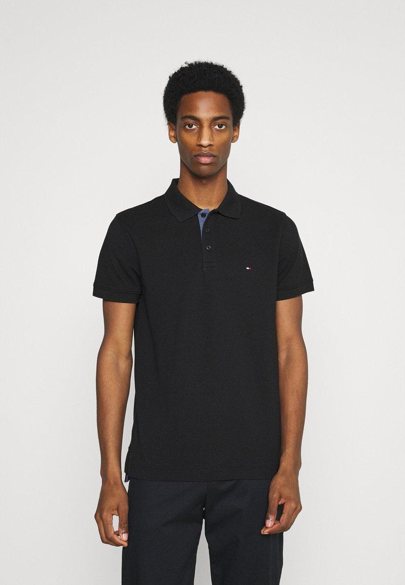 Tommy Hilfiger - CONTRAST PLACKET REGULAR - Polo shirt - black
