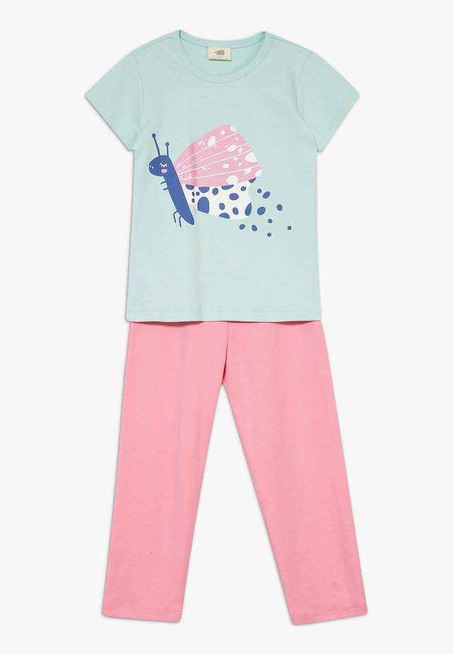 FUNNY BUTTERFLIES SET - Pijama - turquoise