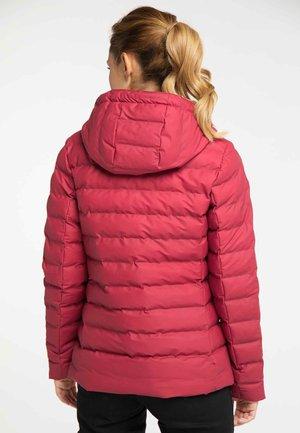 Veste d'hiver - red