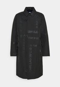 KARL LAGERFELD - UNISEX - Waterproof jacket - black - 4