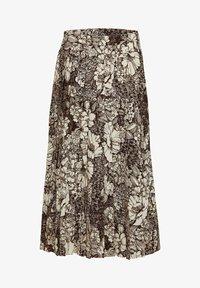 Selected Femme - A-line skirt - sandshell - 5