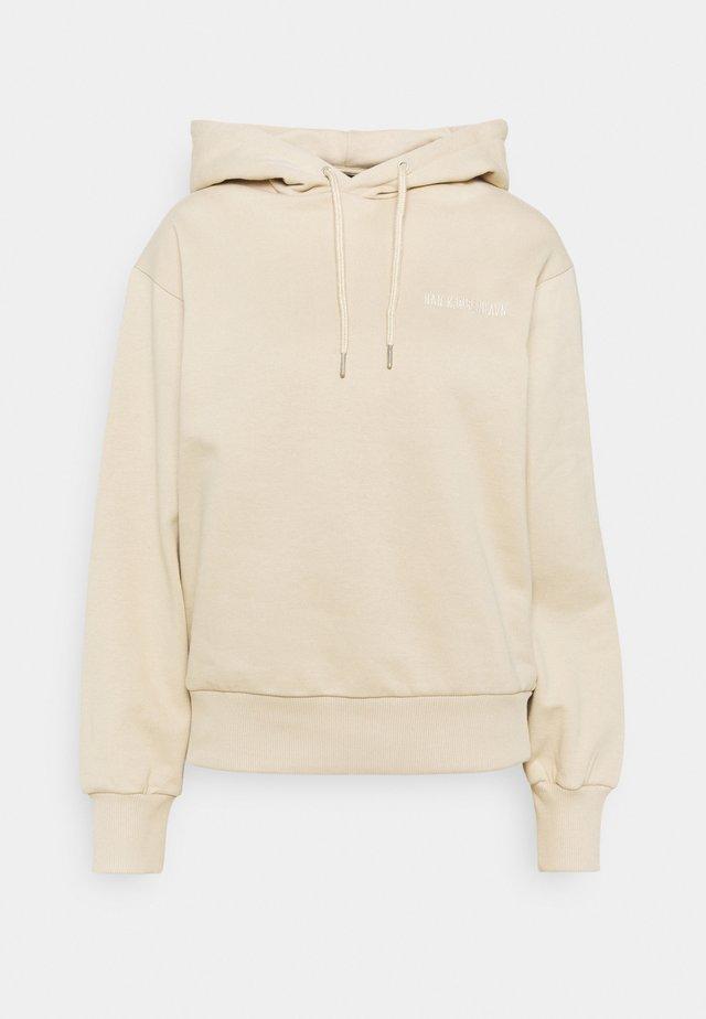 BULKY HOODIE SAND - Sweater - sand