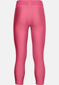 Under Armour - ANKLE CROP - Leggings - pink lemonade - 1