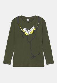 Lindex - MINI STREET PLACED PRINT - Long sleeved top - khaki green - 0