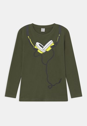 MINI STREET PLACED PRINT - Long sleeved top - khaki green
