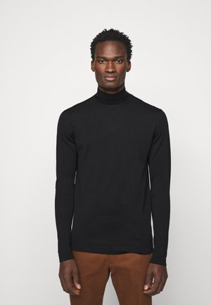 NEAL TURTLENECK - Jumper - black