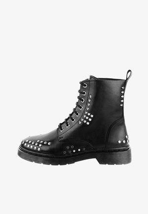 MALITONO - Lace-up ankle boots - black