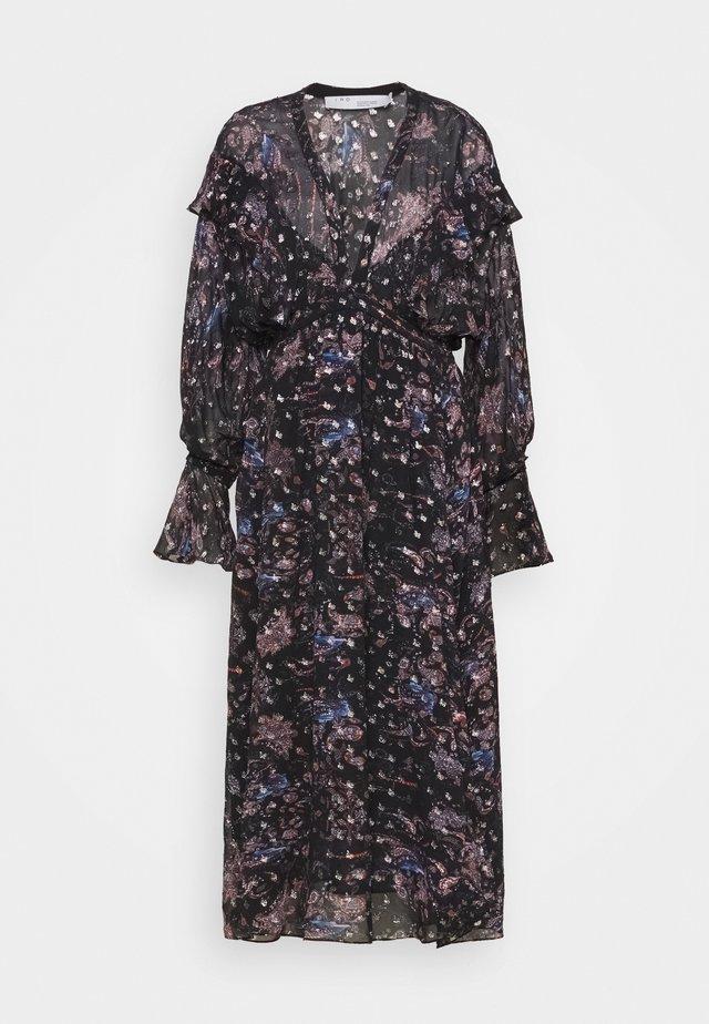 SKAGE - Robe longue - black