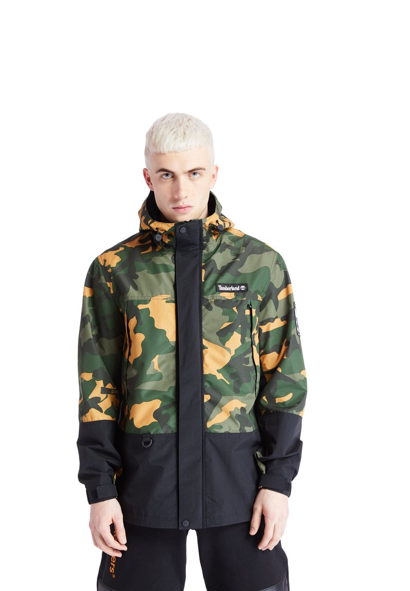 Timberland - CAMO ARCHIVE MOUNTAIN TRAIL - Leichte Jacke - duffel bag/wheat boot house camo-black
