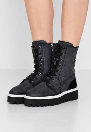 OSLO  - Bottines à plateau - anthracite