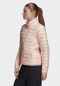 adidas Performance - VARILITE OUTDOOR DOWN - Down jacket - pink - 2