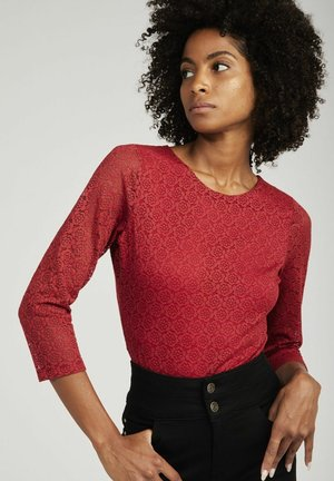 SHIRT  - Long sleeved top - red