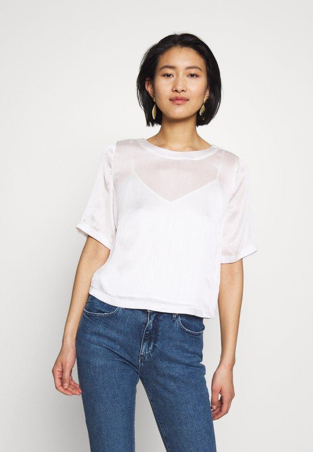 MIJA - Bluser - clear white