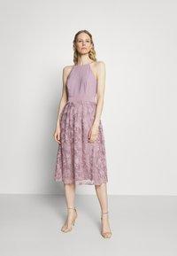 Esprit Collection - DRESS - Cocktail dress / Party dress - mauve - 1