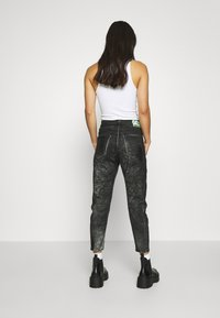 Diesel - D-FAYZA-SP2 - Relaxed fit jeans - washed black - 2