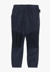 Jack Wolfskin - OKAMI PANTS KIDS - Tygbyxor - midnight blue - 0