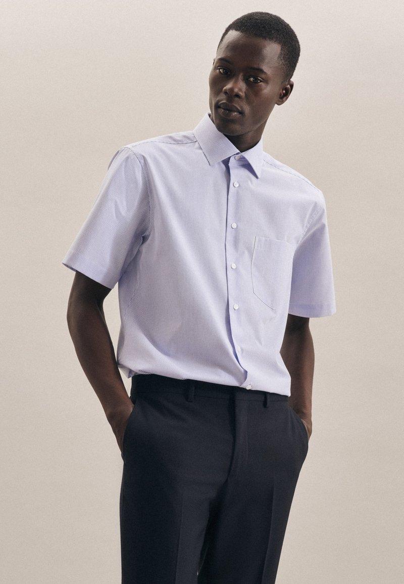 Seidensticker - REGULAR - Shirt - blau