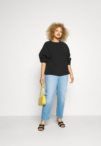 Anna Field - BAT SHAPE OVERSIZED - Neule - black - 1