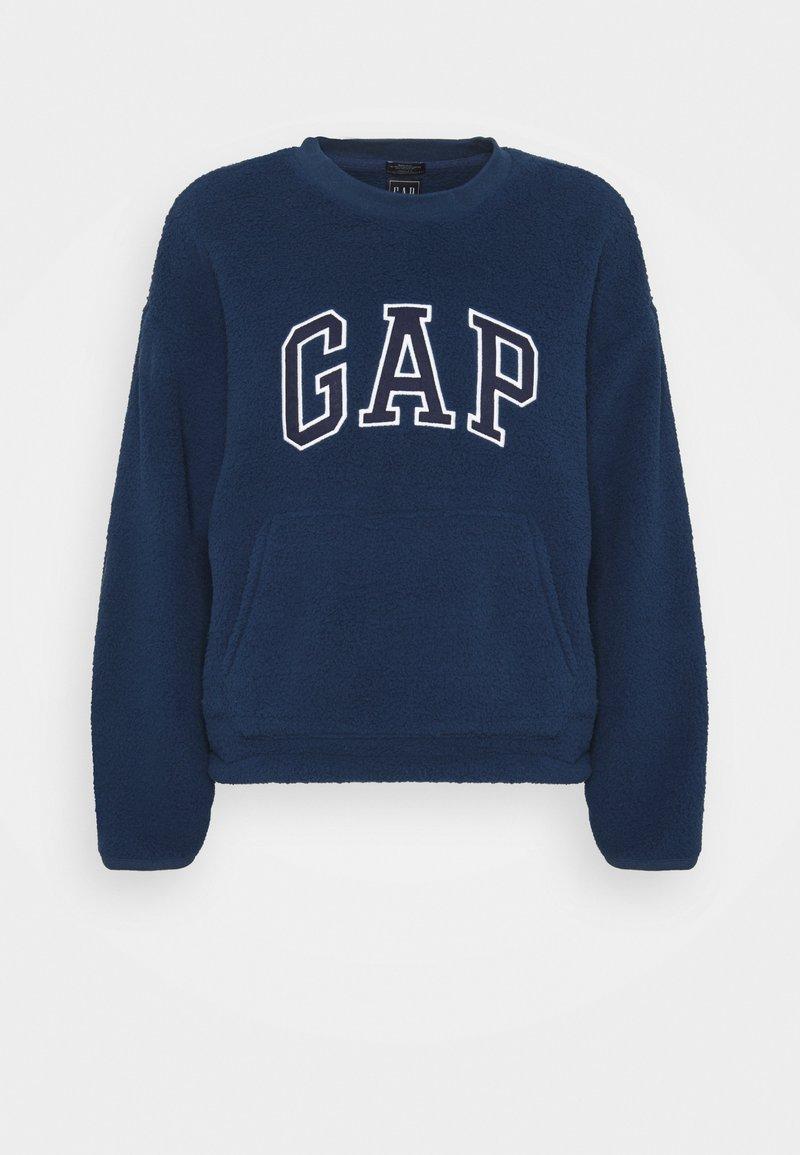 GAP - SHERPA - Fleece jumper - night