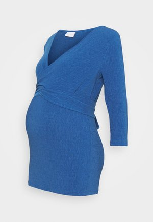 NURSING - Topper langermet - bright cobalt