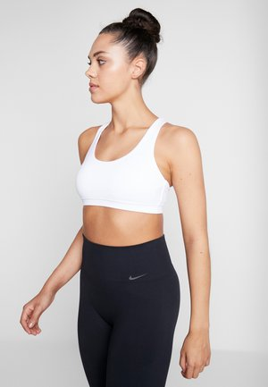 STRAPPY SPORTS CROP - Light support sports bra - white