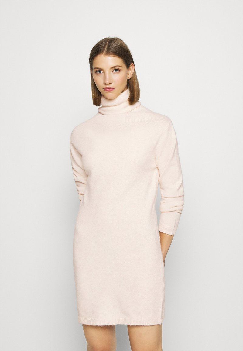 Molly Bracken - LADIES DRESS - Gebreide jurk - offwhite