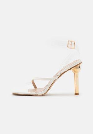 MELISSA - Sandaler - clear/offwhite