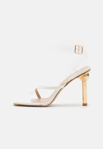 MELISSA - Sandals - clear/offwhite