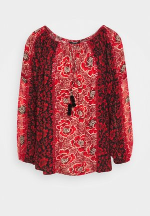 BLUS ROSAL DESIGNED BY MR CHRISTIAN LACROIX - Blusa - borgoña