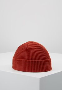 Obey Clothing - HANGMAN BEANIE - Čepice - brick red - 2