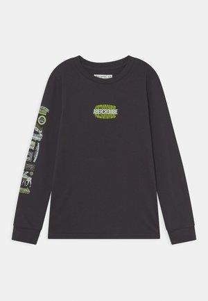 PRINT LOGO - Top sdlouhým rukávem - light grey