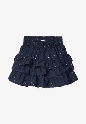 Pleated skirt - dark sapphire
