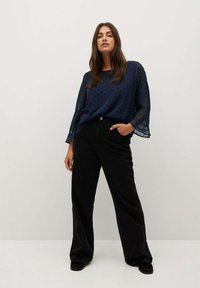Violeta by Mango - CAPA8 - Blouse - dark navy - 1
