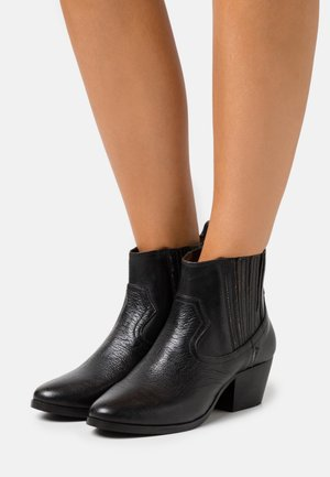 WESTERN FOLSOM - Ankle boots - dark brown