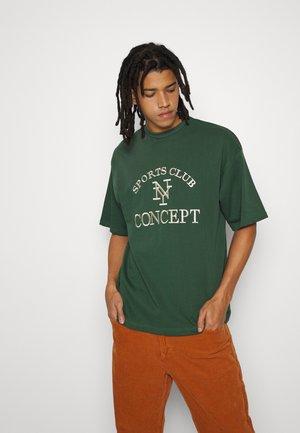 ARCH TEE UNISEX  - T-shirt print - dark green