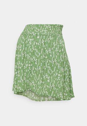 MLCARLIN SKIRT - Mini skirt - turf green/golden apricot