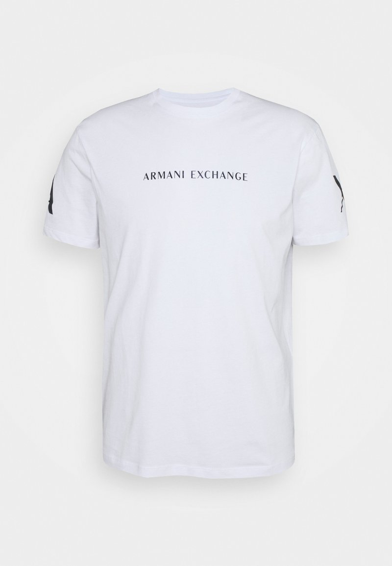 Armani Exchange - Printtipaita - white