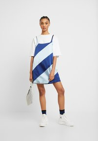 House of Holland - MUTED PANELLED SLIT DRESS - Day dress - blue/navy - 2