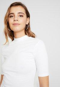 Even&Odd - 2 PACK - T-SHIRT BASIC - T-shirts - white/black - 5