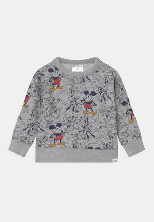 TODDLER BOY CREW MICKEY MOUSE - Felpa - grey