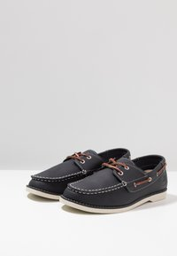 Timberland - SEABURY CLASSIC 2EYE - Boat shoes - navy - 3